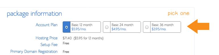 Wordpress Hosting Account