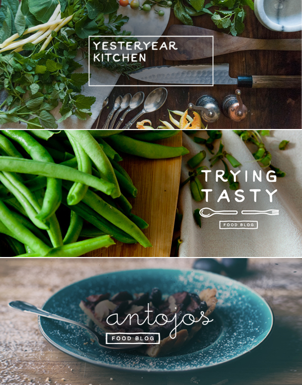 Food Blog Logo Design Ideas And Headers And Where To Get One