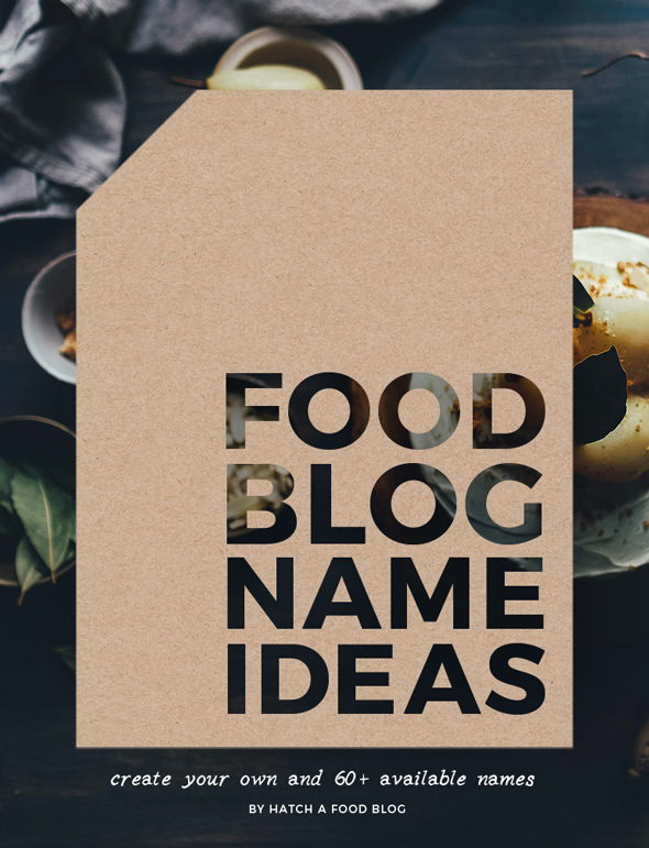 How to create tasty food blog name ideas 60 available for Fun blog ideas