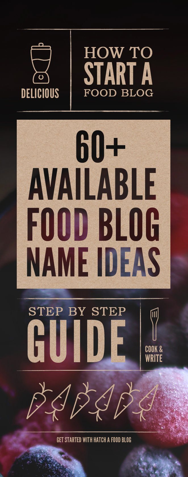 how to create tasty food blog name ideas 60 available names