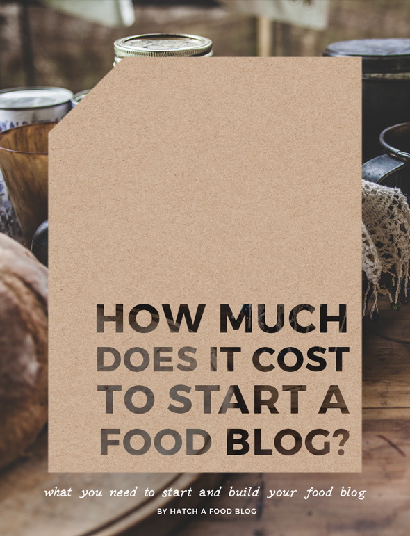 How Much Does It Cost To Start A Food Blog
