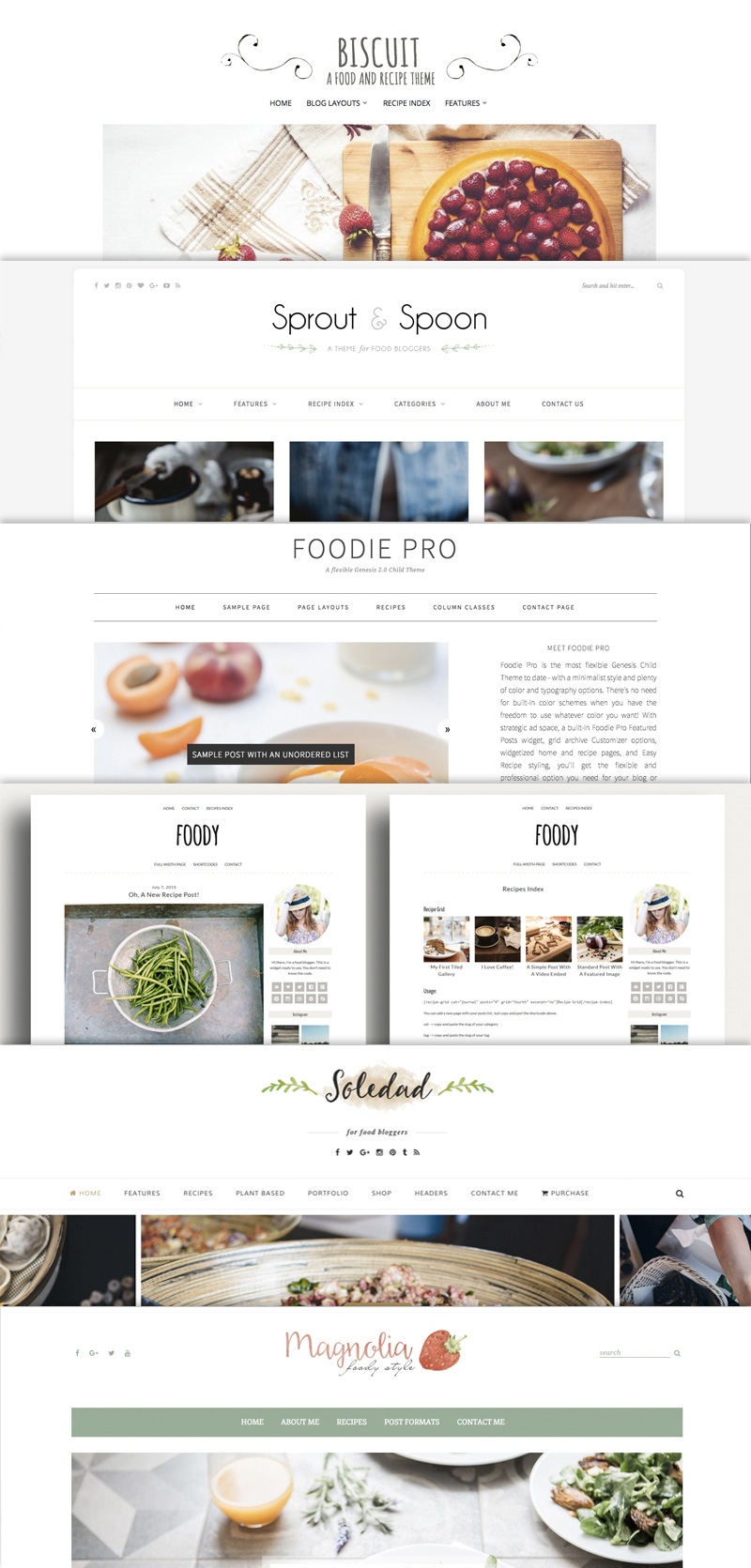 The Best Yummy Wordpress Food Blog Themes For Recipes And Bloggers
