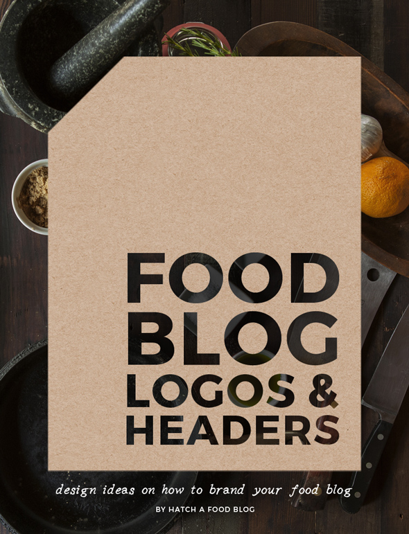 Food Blog Logo And Header Design Ideas